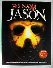 Sell Sheet for HIS NAME WAS JASON: 30 YEARS OF FRIDAY THE 13TH Tom Savini