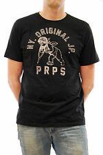 PRPS Totalmente Nuevo Hombres Camiseta Estilo: E65S121BLK Color Negro Tamaño S BCF79