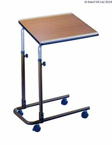 Over Bed/Chair Table - With Castors