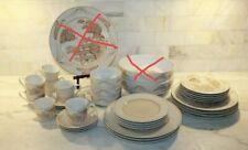 Vintage Georges Briard Chinese Village & Simplicity Set of 33 Dinner Set~ Guc