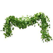 Safari Jungle Party Supplies Cafe Decor Plastic Vine Leaf Decorations Pck of 12