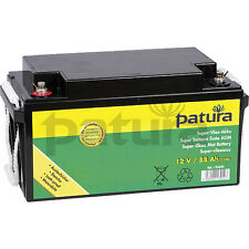 PATURA Batterie de molleton pour 12 Volt 88 AH Pile clôture Barrière bétail