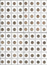 US Presidential Dollars Lot Of 80 Coins 2007-2016 D, P From Mint Rolls, B6