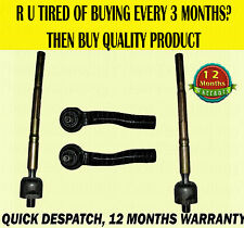 FOR LEXUS IS200 IS300 99-05 OUTER INNER TIE TRACK RACK ROD END X4