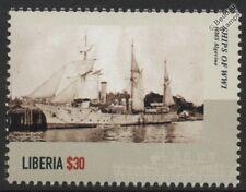 WWI HMS ALGERINE (1895) Royal Navy Phoenix-Class Sloop Warship Stamp