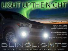 Xenon Halogen Fog Lamps Lights Kit for 2011 2012 Mitsubishi Outlander Sport