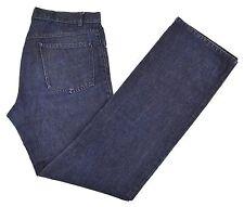 Costume National Homme Couture Indigo Slub Lightweight Denim Jeans IT 48