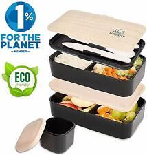 Lunch Box Noir Bambou