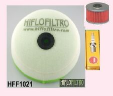 Air Filter Oil Filter & Spark plug to fit Honda CRF CRF150 R/RB   2007 to 2016