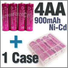 1 x Case + 4 AA Ni-Cd 900mAh rechargeable battery Rose