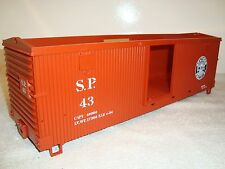 Lgb 43900 Brown Southern Pacific Box Car Body Shell Part Brand New Open Stock!