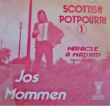 ++JOS MOMMEN scottish/potpourri/miracle à madrid SP TRIUMPH VG++