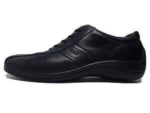ECCO. Leder Komfort Schuhe. Schwarz. Gr. 42. Neuwertig