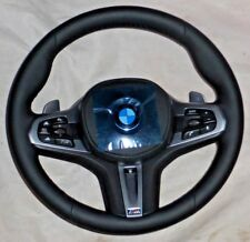 BMW G30 G11 G12 5 & 7 G01 X3 M Sport Leather Steering Wheel Heated Sport Auto
