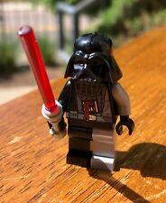 LEGO STAR WARS DARTH VADER BATTLE DAMAGED GENUINE MINIFIGURE ONLY SET# 7672