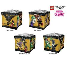 """15"""" LEGO Batman the MOVIE CUBZ BALLOON Party 4 SIDED FREE SHIPPING"""