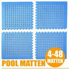 Pool Matten Planschbecken Unterlage Poolmatte Bodenschutzmatte Bodenmatte