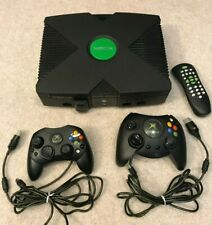 Microsoft Original Xbox Console with 2 Controllers Bundle *Tested and Working*