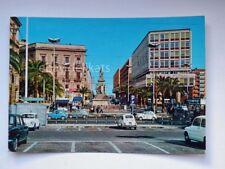 CATANIA Piazza Stesicoro FIAT 500 600 vecchia cartolina