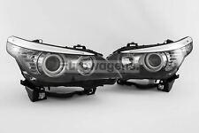 BMW 5 Series E60 LCI 07-10 Saloon LED DRL Headlights Set Pair Driver Passenger