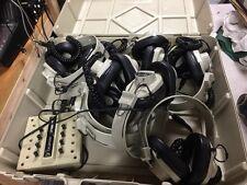 Califone 8 Position Listening Center 2924AV-P w/Jack Box 1218AV-PY  &Case Bundle