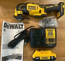 NEW DEWALT DCS354D1 20V Cordless Keyless Oscillating multi tool kit - NEW WOB