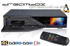DreamBox DM920-4K UHD Tuner Triple Multistream DM920 4K tuner S2X/T2 e IPTV