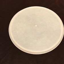 """Tupperware 224 Replacement Round Seal Cover Lid Only Sheer 12"""" Large"""