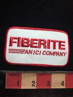 Vtg FIBERITE AN ICI COMPANY Uniform Or Advertising Patch C772