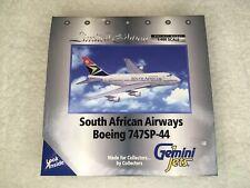 Gemini Jets GJSAA036 SAA B747SP-44 W/Reg, 1/400 scale, NIB, MIB