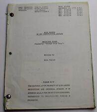 Buck Rogers in the 25th Century * 1979 Original TV Script * Season 1, Episode 7