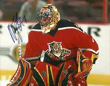 Roberto Luongo Hand Singed 8x10 Photo Florida Panthers NHL Autograph Hockey