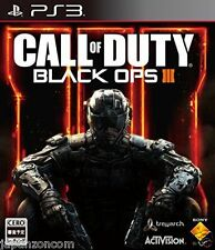 Used PS3 Call of Duty Black Ops III  SONY PLAYSTATION 3 JAPAN JAPANESE IMPORT