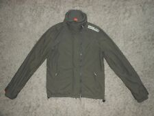 Mens Superdry The Windcheater Jacket In Olive Green - Size M