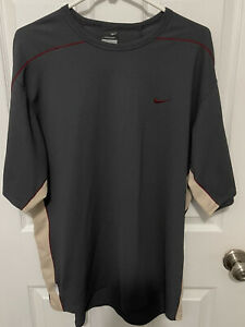 Vintage Nike Sphere Dry Short Sleeve Waffle Knit Shirt Men's XL