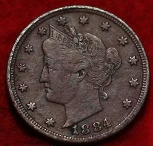 1884 Philadelphia Mint Liberty Nickel