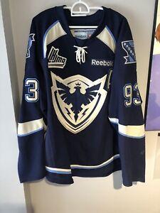 Sherbrooke Phoenix Game Worn Laflamme Jersey Authentic 54 QMJHL Jersey