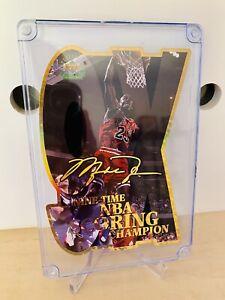 Michael Jordan 97 Upper Deck Jumbo 9x Scoring Chamion Die Cut 1639/5000 🔥