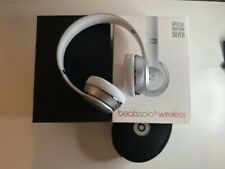 Beats by Dr. Dre Solo3 Wireless headphones - Special Edition Silver - Boxed