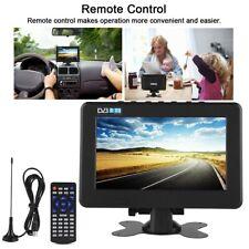 DVB-T2 16:9 HD 1080P Car Digital Smart TV Player Stereo Surrounding US Plug