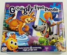 MasterPieces Googly Eyes Pets Jigsaw Puzzle, 100-Piece