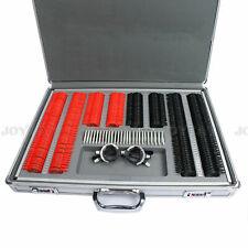 Optical Trial Lens Set Kit 266PCS Plastic Rim Optometry Case w/ Free Trial Frame