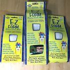 "3pc ~ E-Z FORM Plaster Plaster Cloth Wrap Rolls 8"" X 180"" (1) & 4"" X 180"" (2)"