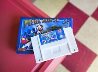 OFFICIAL Mega Man X - 30th Anniversary Classic SNES Cartridge