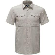 The North Face Monanock Utility Men Grey Short Sleeve Shirt Button UP Sz Medium