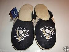 NHL Pittsburgh Penguins Team Jersey Indoor/Outdoor Slippers ~ Size MED (9-10)