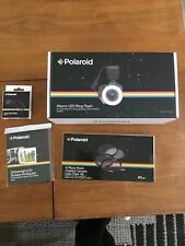 Polaroid Macro LED Ring Flash PLMRFU Filter Len Cap Cleaning Kit