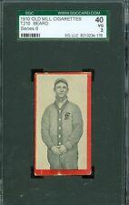 1910 T210-6 Old Mill - Beard  - Frankfort (Blue Grass League) - SGC 40