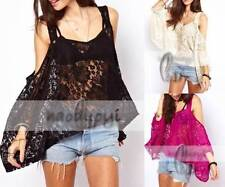 Women's Off-Shoulder Sleeve Lace Tops & Blouses