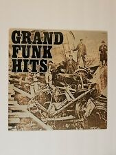 "Grand Funk Railroad LP ""Grand Funk Hits"" Capitol (ST-11579), Vinyl VG w/ Booklet"